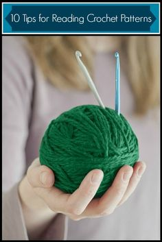 Never crocheted from a pattern before? These tips will get you started