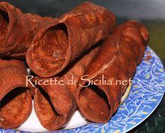 Ricetta cannolo siciliano