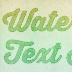 How to Create a Quick and Easy Watercolor Text Effect in Photoshop
