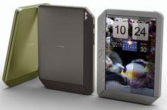 Expanding tablet concept design.
