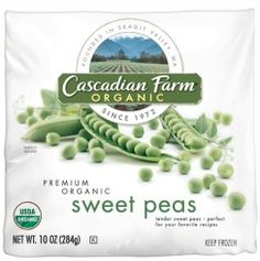 Cascadian Farms Organic Sweet Peas