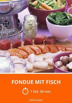 Fondue mit Fisch - smarter - Zeit: 1 Std. 30 Min. | eatsmarter.de