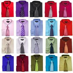 Shirt Tie Combo, Dress Shirt And Tie, Long Sleeve Shirt Dress, Clothing Sketches, Tie Set, Mens Fashion, Fashion Outfits, Character Outfits, Classy Dress