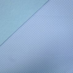 Fabric Felt :: Wide Pin Dot Pale Blue on Ice Blue