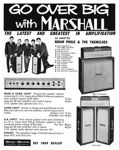 Vintage Fender ads.