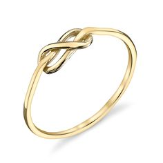 Gabriela Artigas Online Store - RINGS 14K Gold Knot Ring, $195.00 (http://store.gabrielaartigas.com/rings-14k-gold-knot-ring/)