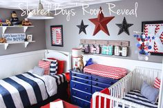 Shared Boys' Room/Nursery reveal - FEARFULLY & WONDERFULLY MADE