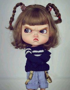 Temper Temper Girl Blythe doll costume revise in 2019