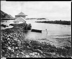 1890's photo of White Point in Palos Verdes California.