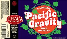 mybeerbuzz.com - Bringing Good Beers & Good People Together...: Ithaca - Pacific Gravity Double IPA Coming To Bott...