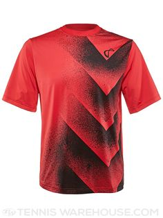 Athletic DNA Winter Overspray Tennis Crew (Red)
