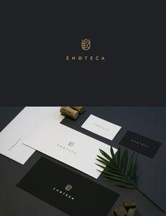 ENOTECA wine boutique Branding by Natasha Nikulina Mouton Cadet, Wine In The Woods, Wine Names, Wine Logo, Boutique Logo, Wine Brands, Expensive Wine, Wine Bottle Labels, Bottle Opener