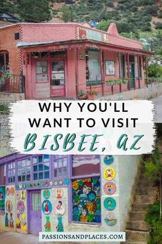 The artsy hippie haven of Bisbee, AZ, is a perfect road trip stop. This guide covers everything you need to know, including all the best things to do in Bisbee. Arizona Day Trips, State Of Arizona, Arizona Travel, Bisbee Arizona, Tucson Arizona, Visit Arizona, Scottsdale Arizona, Places To Travel, Places To Go