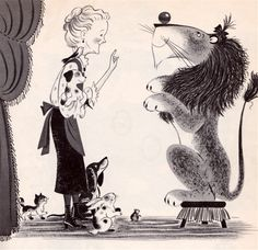 my vintage book collection (in blog form).: Miss Lollipop's Lion - illustrated by Judy Varga