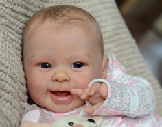 FIONA LESTER Reborn Baby GIRL Doll MAIZIE ANDREA ARCELLO Maisie LIMITED EDITION #ScrumptiousBabies