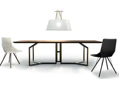 Rectangular table TOLOMEO Esedra Suites Collection by Esedra by Prospettive | design Studio Memo