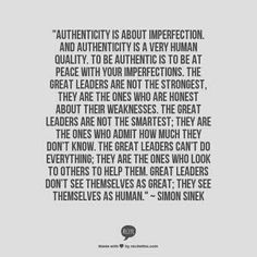 Great leaders. Imperfections.