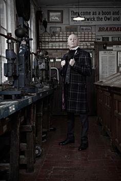 Jasper Carrott, MBE - Comedian / Producer http://www.jaspercarrott.com/ #portrait #photography #styling #victorian #birmingham