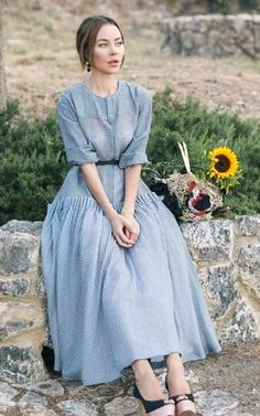 Ulyana Sergeenko. I seriously love everything she wears.