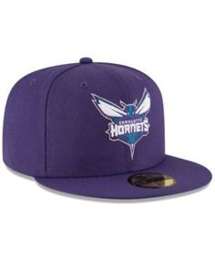 c6c28a6b07e New Era Charlotte Hornets Solid Team 59FIFTY Cap - Purple 7 Nba Season