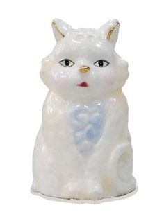 Jim Shore White Cat Thimble | eBay