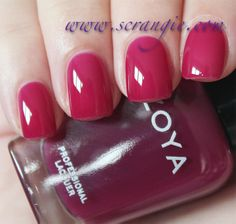 Scrangie: Zoya NYFW Gloss Collection Fall 2012 Swatches and Review - Zoya Nail Polish in Paloma