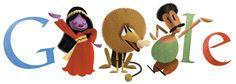 Salah Jahin's 83rd Birthday [83 года со дня рождения Салаха Яхина] /This doodle was shown: 25.12.2013 /Countries, in which doodle was shown: Algeria, Bahrain, Egypt, Iraq, Jordan, Kuwait, Lebanon, Libya, Morocco, Oman, Palestine, Qatar, Saudi Arabia, Tunisia, United Arab Emirates