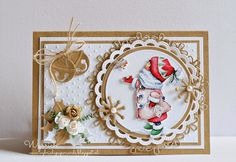 Cards made by Wybrich: winter