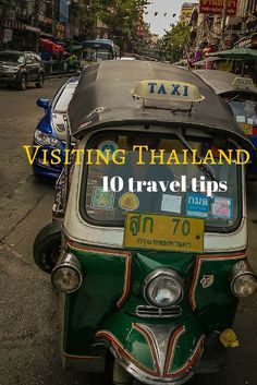 Visiting Thailand - here's a variety of tips about visiting Thailand including travel, safety, shopping, visiting landmarks and basic etiquette around the country