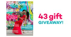 Have you seen the current issue of BIBB Magazine?  It's awesome!  Tons of parenting tips, fashion, DIY, recipes, a catalog of the hottest baby & kids gifts with DEALS + a HUGE giveaway! #lovethismag #BIBBMag #mustread #entertowin