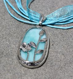 another stained glass pendant...sigh