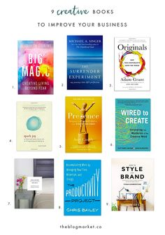 Best Creative & Business Books for 2016 - The Blog Market