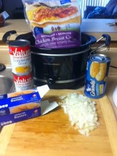 Pinning with Mrs. Pennington: Crockpot Chicken  Dumplings