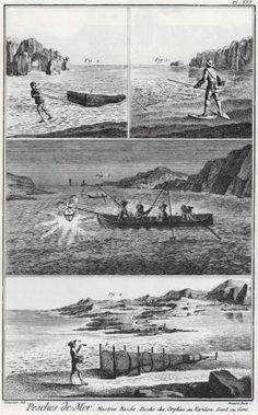 Fishing-Plate 16_Diderot_1771