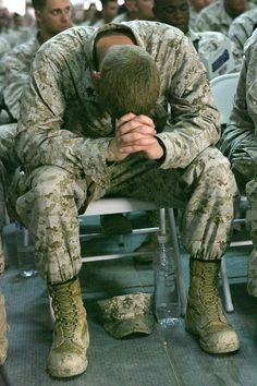 Pray for all those in our military. Their load is a heavy one & on so many levels!