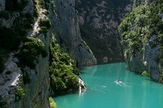 Verdon gorge / Provence, France A place I dream of living near. France Map, South Of France, France Travel, Provence France, Aquitaine, Places To Travel, Places To See, Travel Destinations, Rio