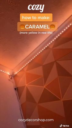 Get your LED Strip Lights today at cozydecorshop. Led Room Lighting, Room Lights, Strip Lighting, Cute Room Decor, Teen Room Decor, Diy Luz Led, How To Make Caramel, Led Stripes, Lumiere Led