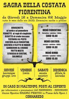 Sagra della Costata alla Fiorentina dal 12 al 22 Maggio Cornaredo (MI) 2016