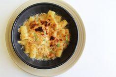 Rigatoni Gratinati / macaroni fromage de style italien