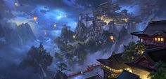 ArtStation - Kongming latern, ling xiang
