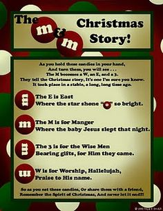 The M Christmas Story! - Pinned by @PediaStaff – Please visit for all (hundreds of) our pediatric therapy #crafts and creations Ideas| http://craftsandcreationsideas.blogspot.com