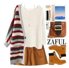 """Zaful"" by oshint ❤ liked on Polyvore featuring moda, MANGO, Timberland, Burberry, Chanel, Christian Dior, Tiffany & Co. y zaful"