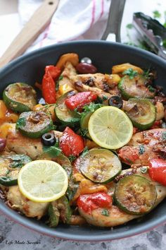 "<a href=""http://lifemadesweeter.com/2015/06/one-pan-mediterranean-chicken-skillet/"" target=""_blank"">One Pan Mediterranean Chicken Skillet</a>"