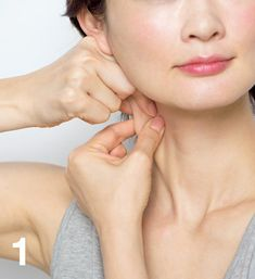 顔をたるませ、老けて見えるのをくい止めるには、「筋膜はがし」で!