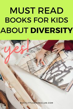 Check out our list of the best books for kids about diversity! Help promote conversations with your child about diversity, inclusion, race, and advocacy. Educational Activities For Kids, Preschool Activities, Little Books, Good Books, Teaching Kids, Kids Learning, Subscriptions For Kids, Baby Sensory Play, Book Subscription