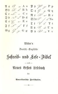 Witter's German English Primer cover