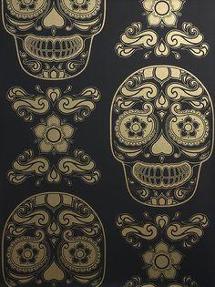 ~ Sugar Skull Wallpaper ~