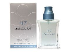 Alain Delon Samurai 47 - 不知道為什麼這一罐的味道總讓我想到香取慎吾<3