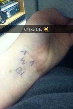 Otaku day!!!! :D ((I was in school when I took it lol))