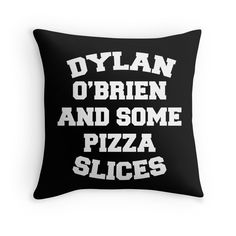 Dylan O'Brien and Some Pizza Slices